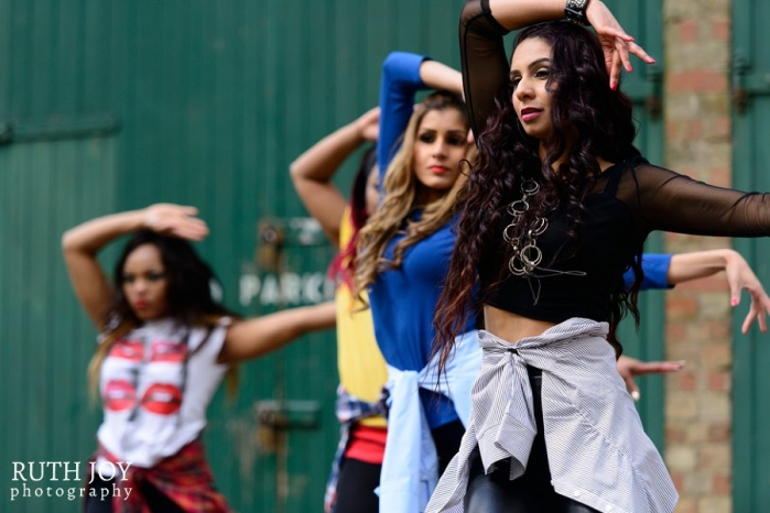 Diva Dance Group Performance with Ish Dance Fusion, International Women