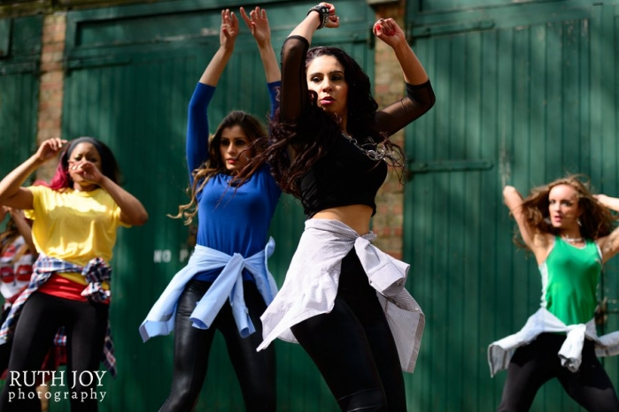 Diva Dance Group Performance with Ish Dance Fusion