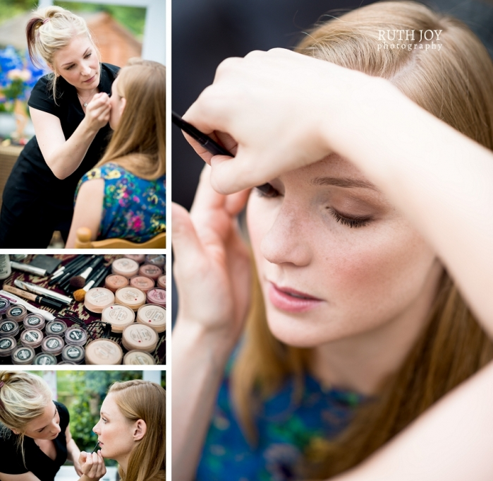 Bridal make up by Gemma from Potters Beauty Barn