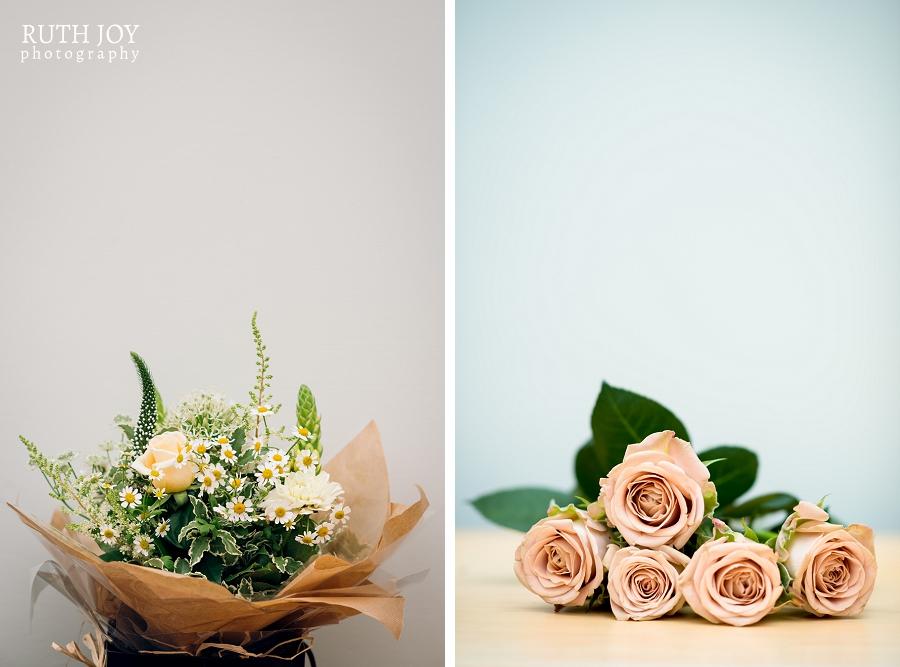 Simple floral bouquets