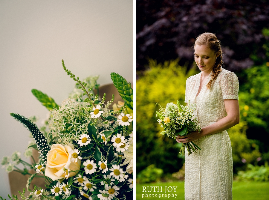 English country flower bouquet