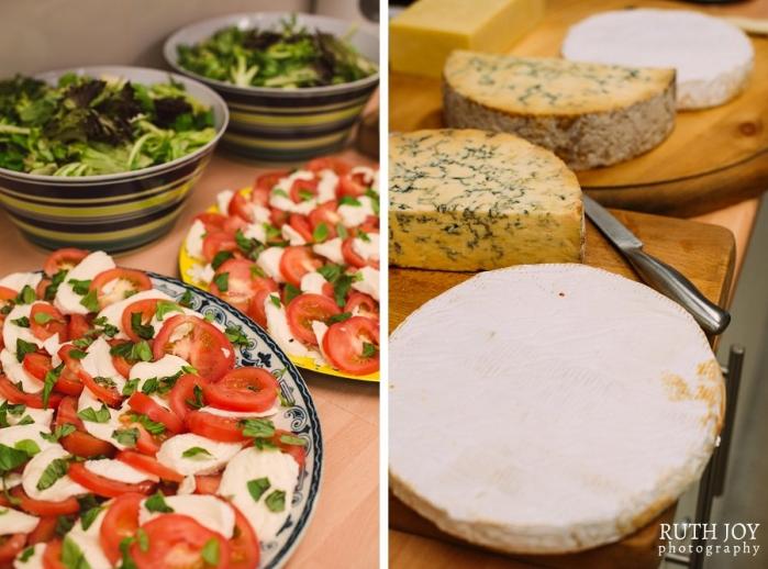 Tomato, Basil and Mozzarella Salad