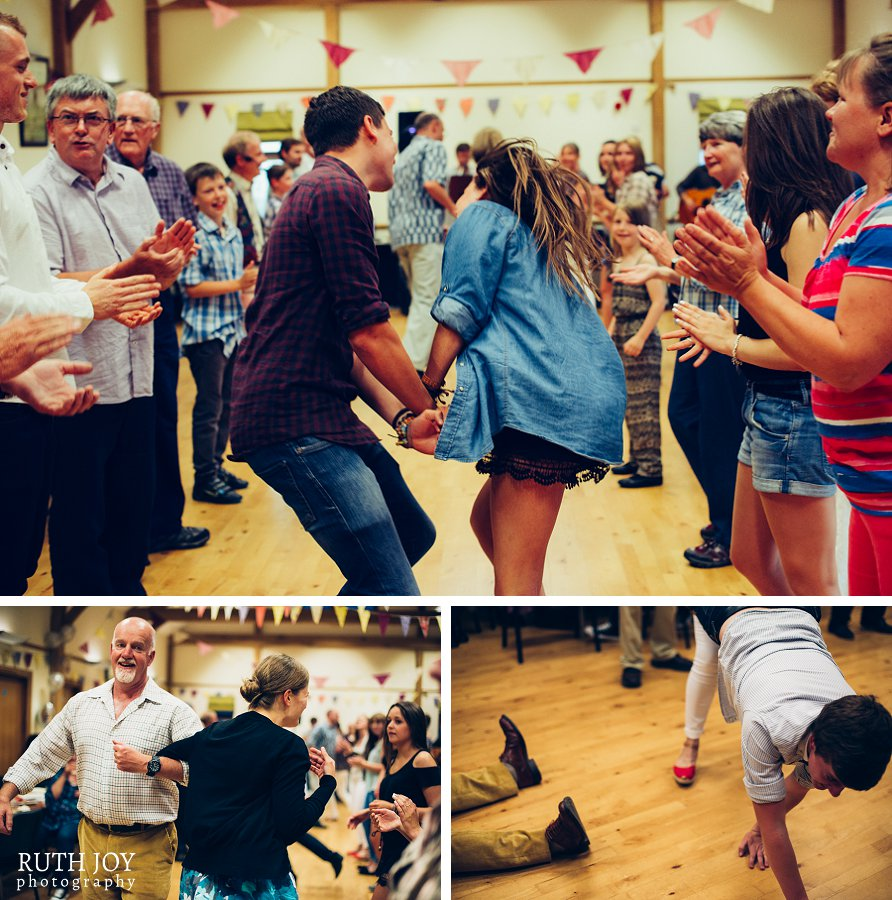 Hampshire Barn Dance Band Saxon Drain