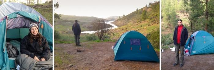 Camping Cueva de las Presas de las ninas